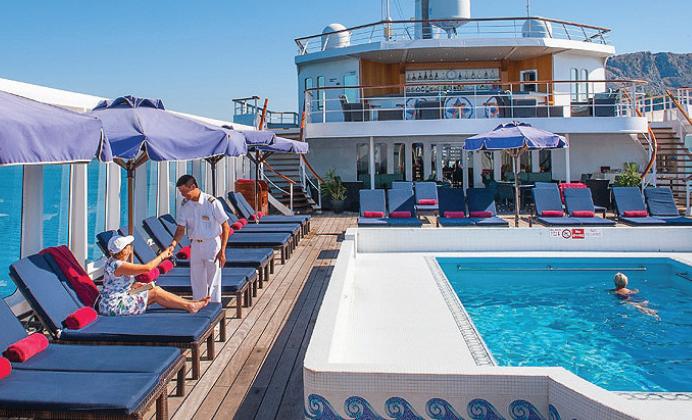 Aegean Odyssey - pool