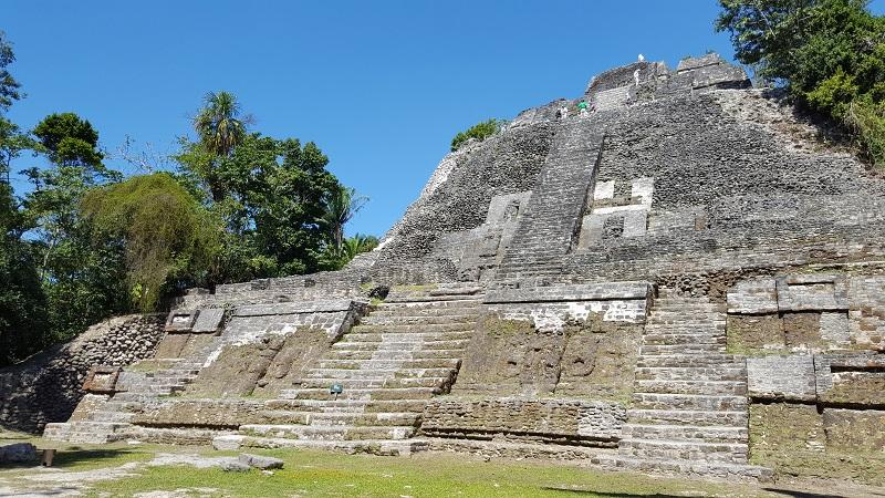 High Temple in Lamanai