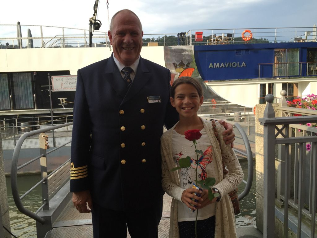 Danube Cruise Captain