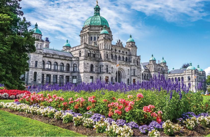 Victoria's commanding parliament - vancouver