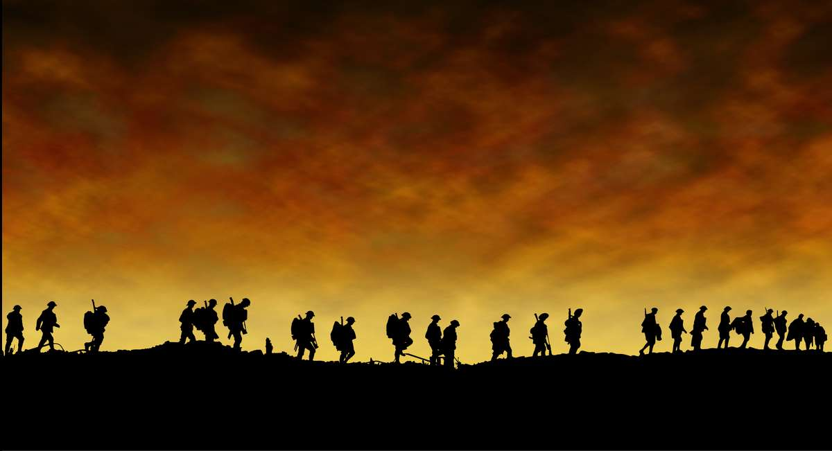 In Flanders Fields We Will Remember Them World Of