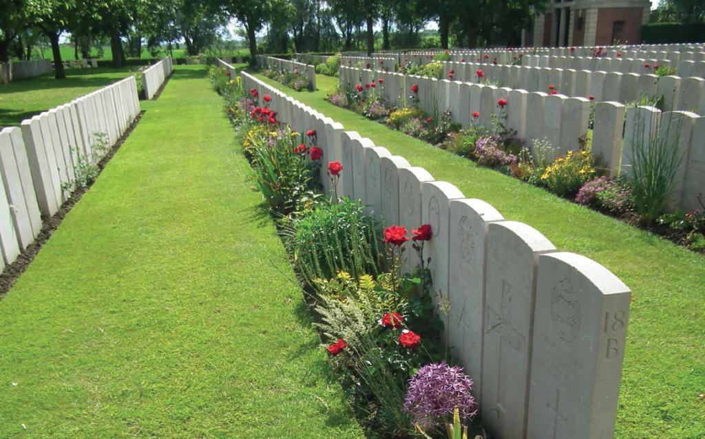 Lissenhoek Military Cemetery