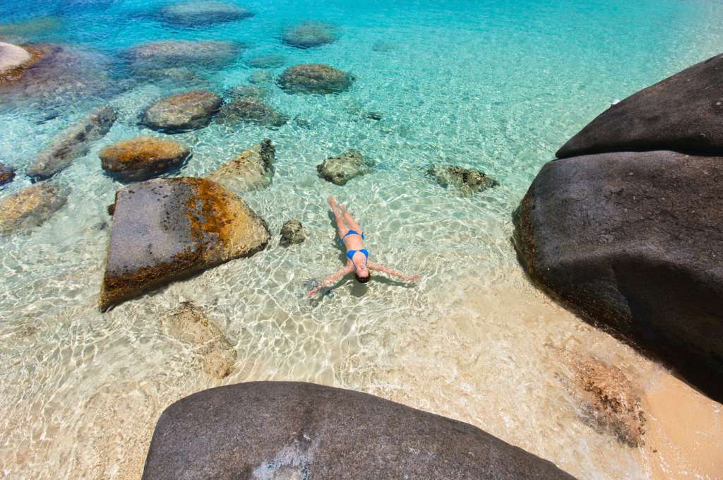 Bath - Virgin Gorda - Caribbean