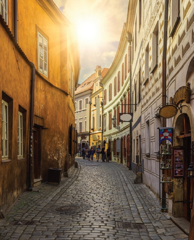 Cesky Krumlov - Republic Czech