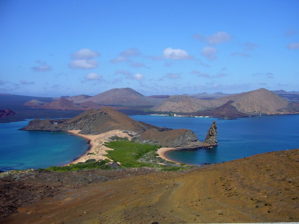 Islands on Galapagos cruise