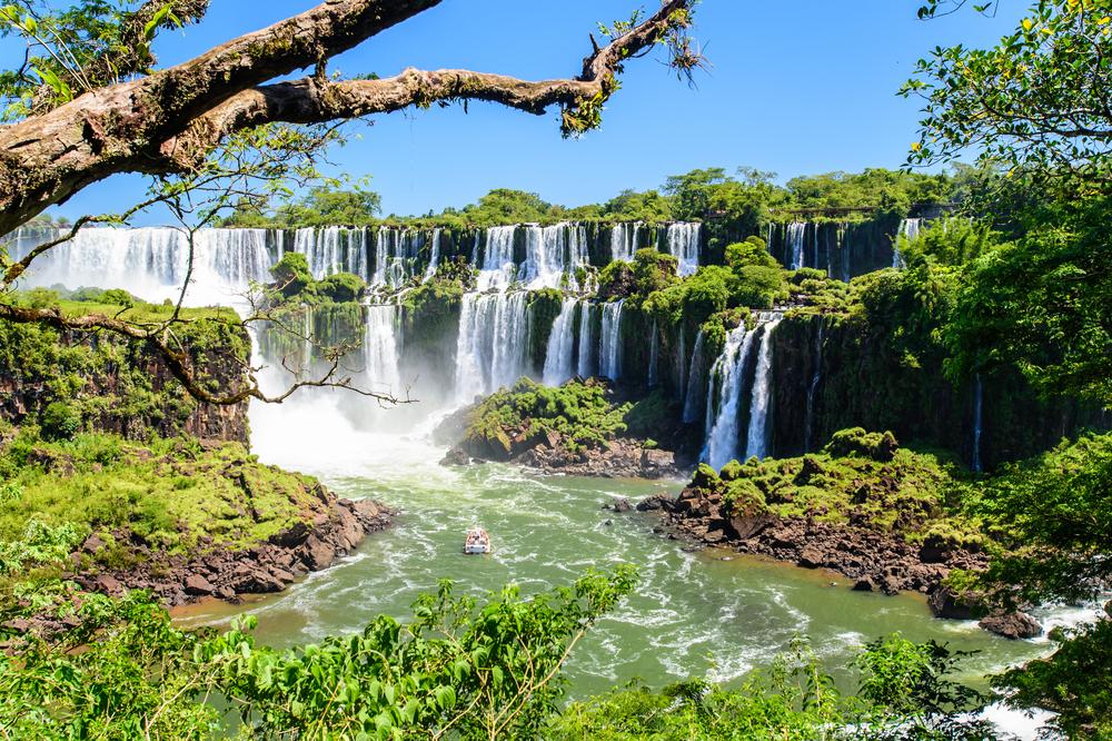 South America Iguazu Falls