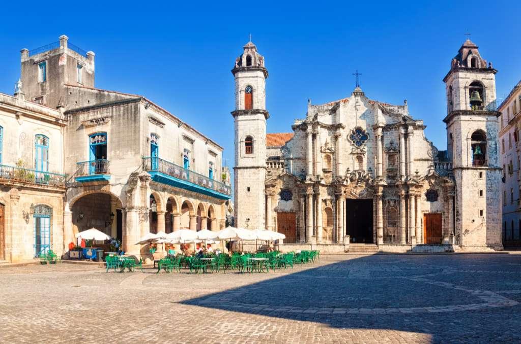 Plaza de la Catedral - Cuba