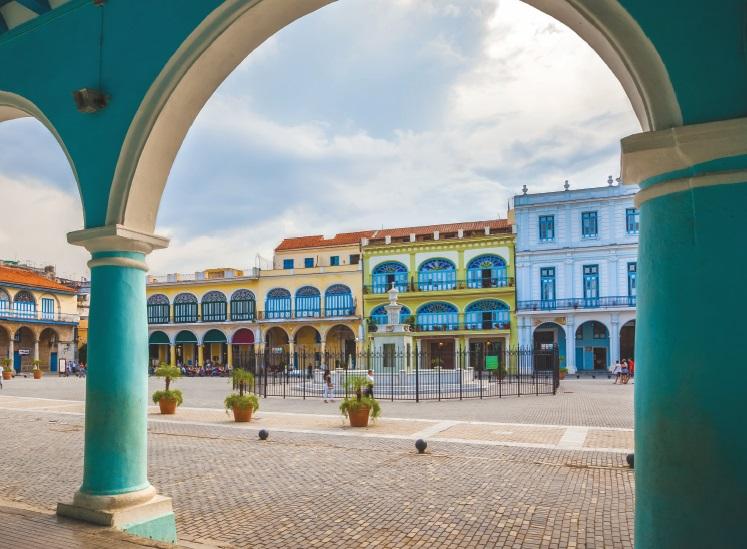Square in Havana