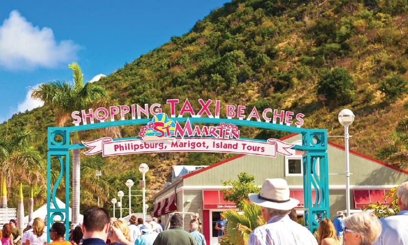St Maarten - port