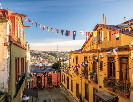 Streets - Valparaiso -Chile