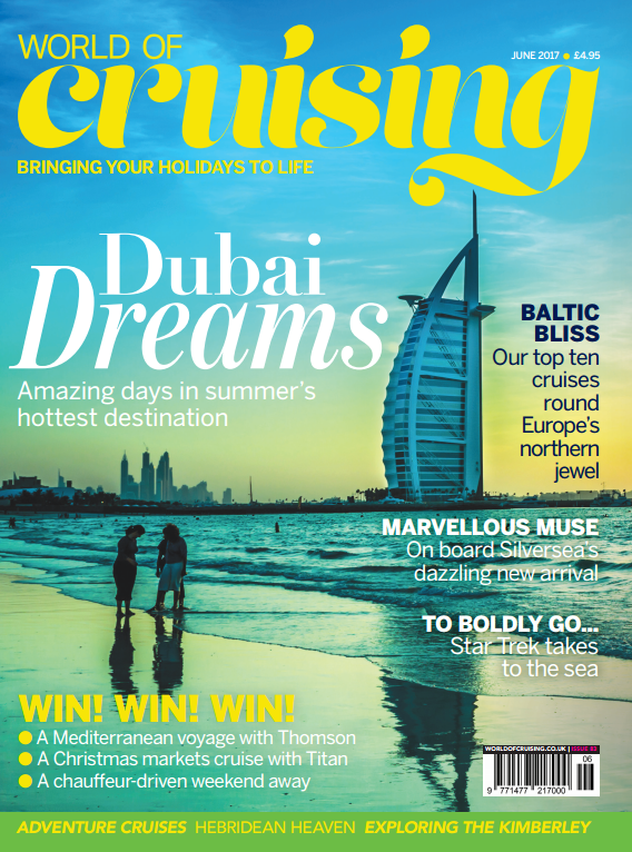 World of Cruising june issue 83 cover