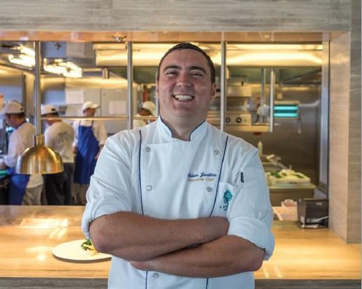 Executive Chef Adam Jenkins