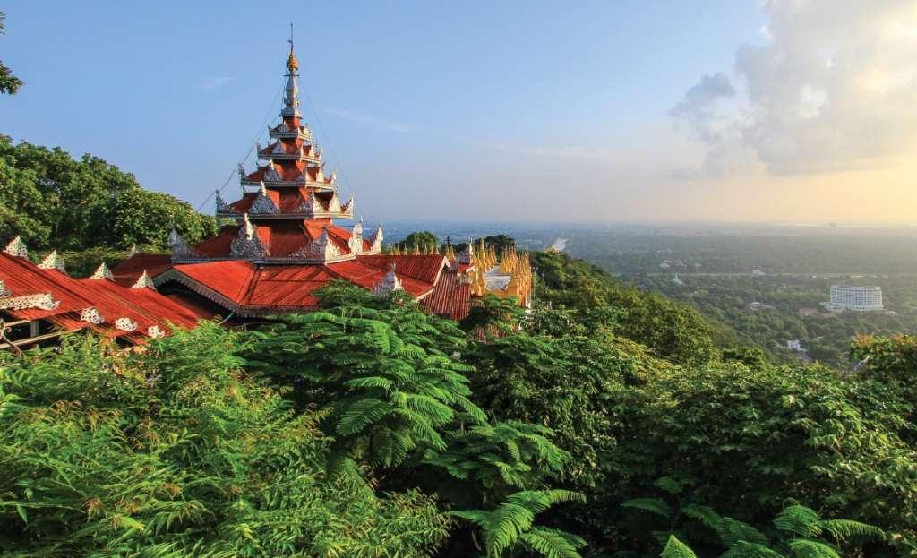 Sutaungpyei Pagoda - Mandalay