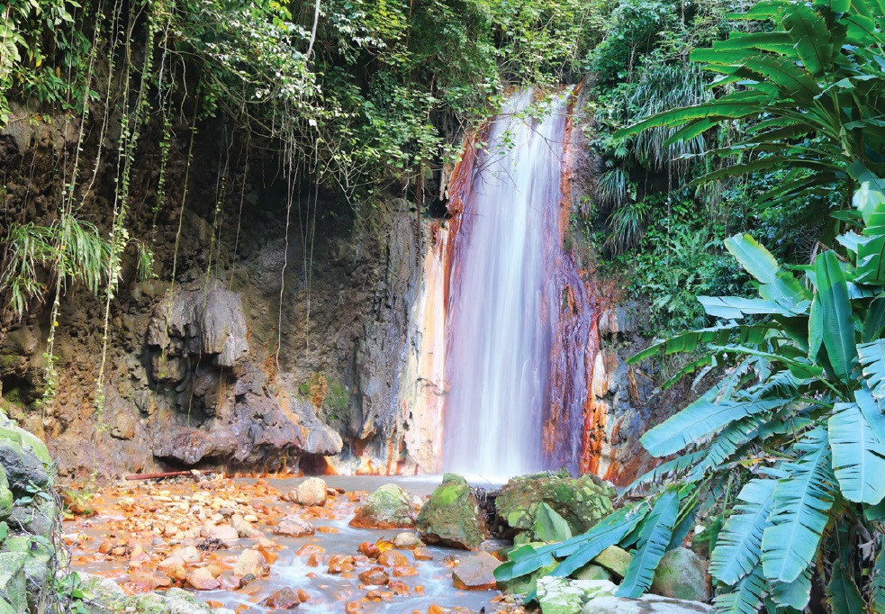 Waterfall - St Lucia