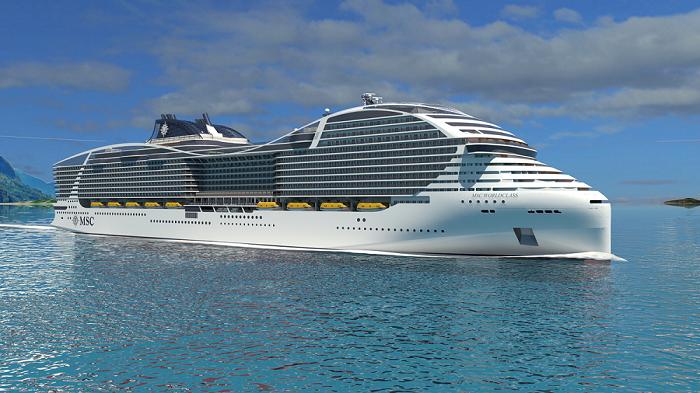 MSC Cruises' World Class ship