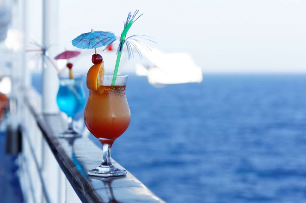 Cocktail on a cruise