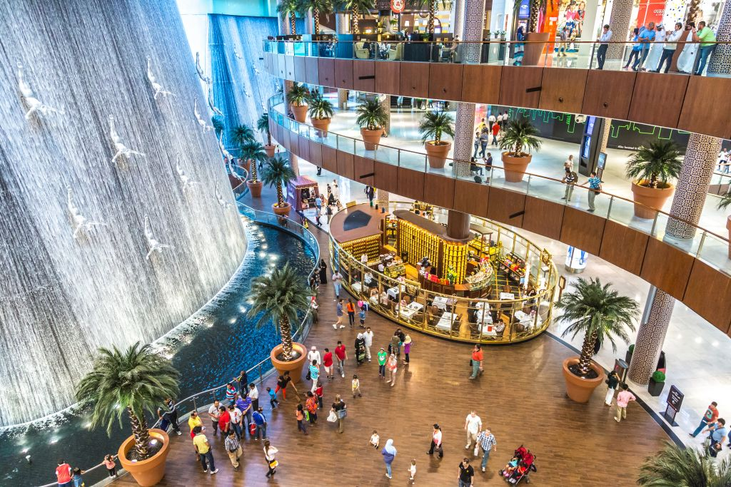 Shopping centre Dubai