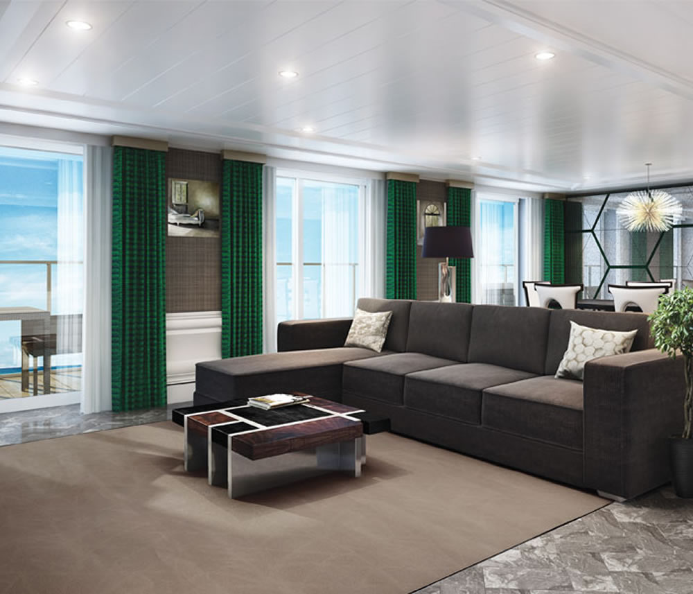 Seven Seas Explorer Grand Suite