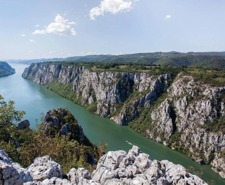 Iron Gate Gorge - Danube - Serbia