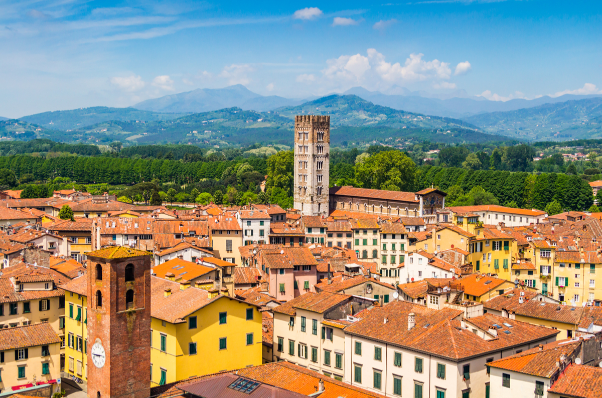 Lovely Lucca A Perfect Alternative To Florence World Of Cruising Magazine