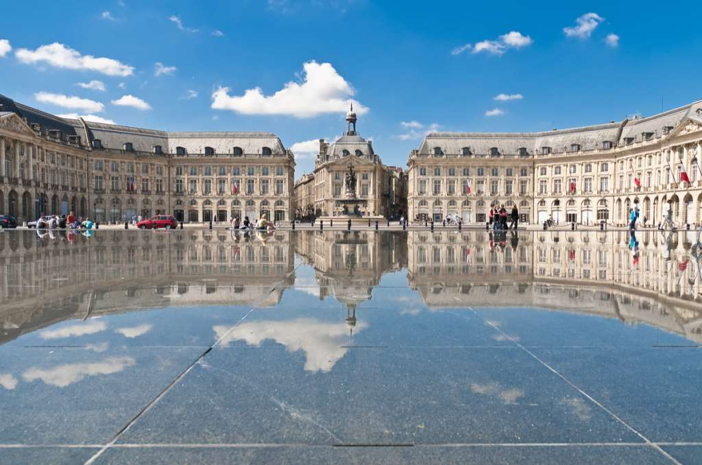 Mirroir d'eau - Place de la Bourse - Bordeaux