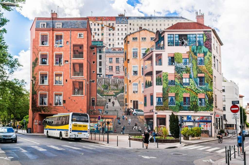 Mural Painting - Croix-Rousse - Lyon