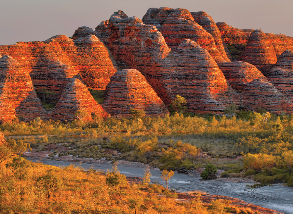 The sandstone Bungle Bungles - Kimberley Coast - Australia