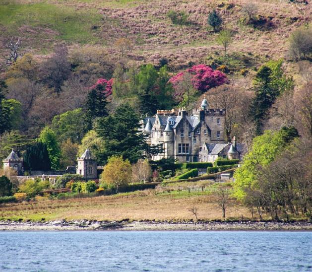 Torosay Castle - Isle of Mull