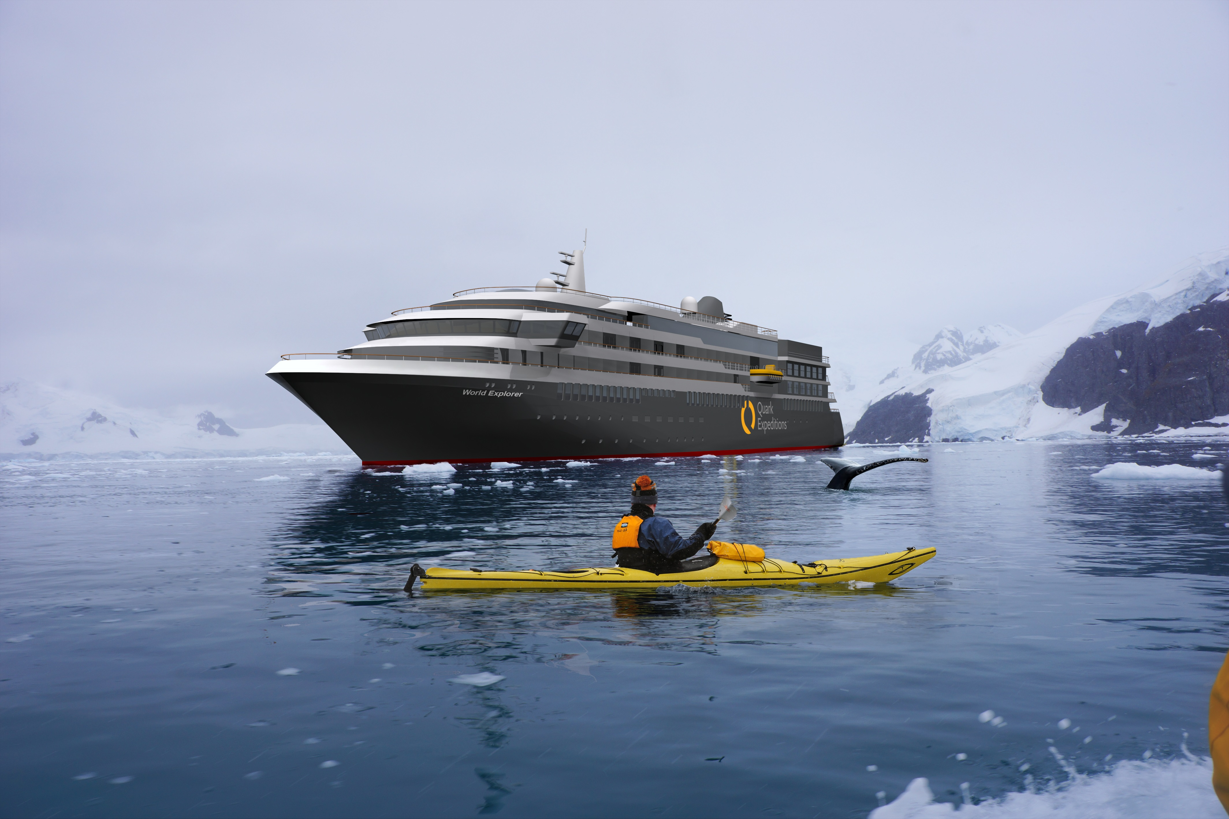 Quark Expeditions Announces Its First Hybrid Luxury