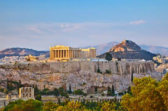 MSC Cruises: Acropolis - Athens - Greece