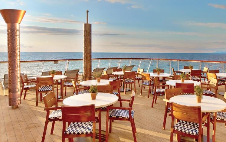 Aquavit terrasse - Viking Ocean Cruises