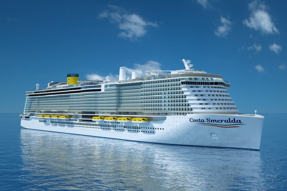Construction work begins on costa smeralda for Costa magica wikipedia