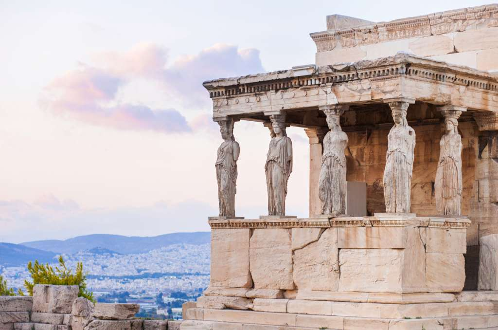 Erechtheion sanctuary - Athens - Greece