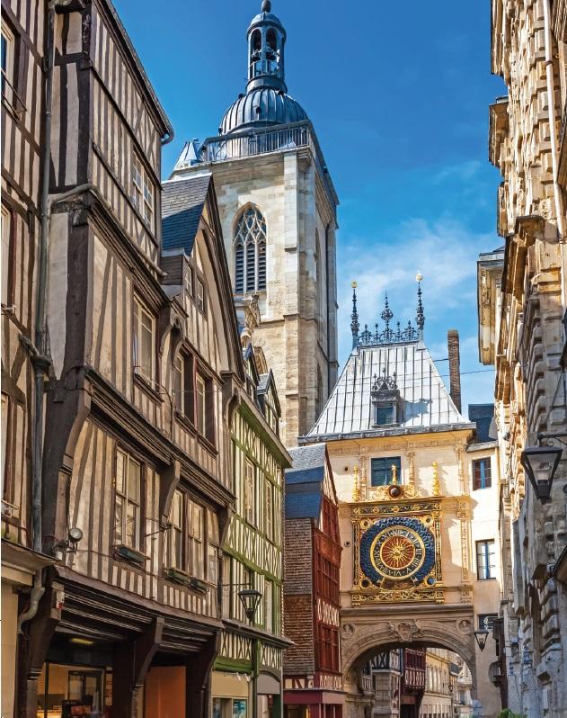 Historic Rouen - France