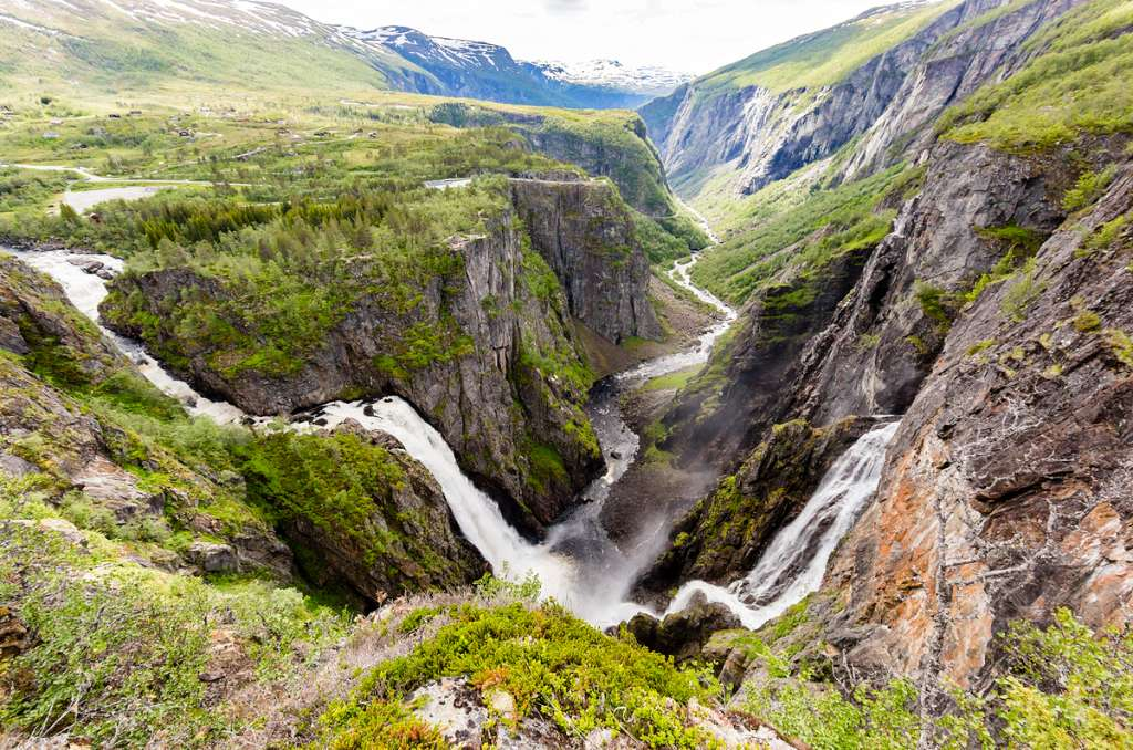 Voringfossen waterfall