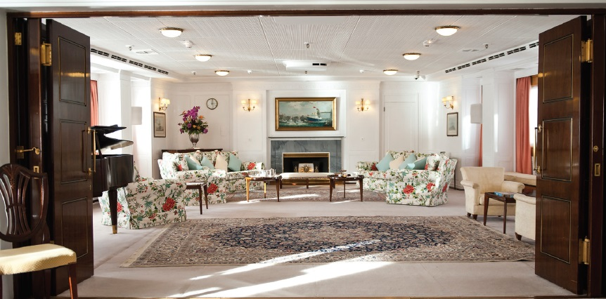 Royal Appartment - HMY Britannia