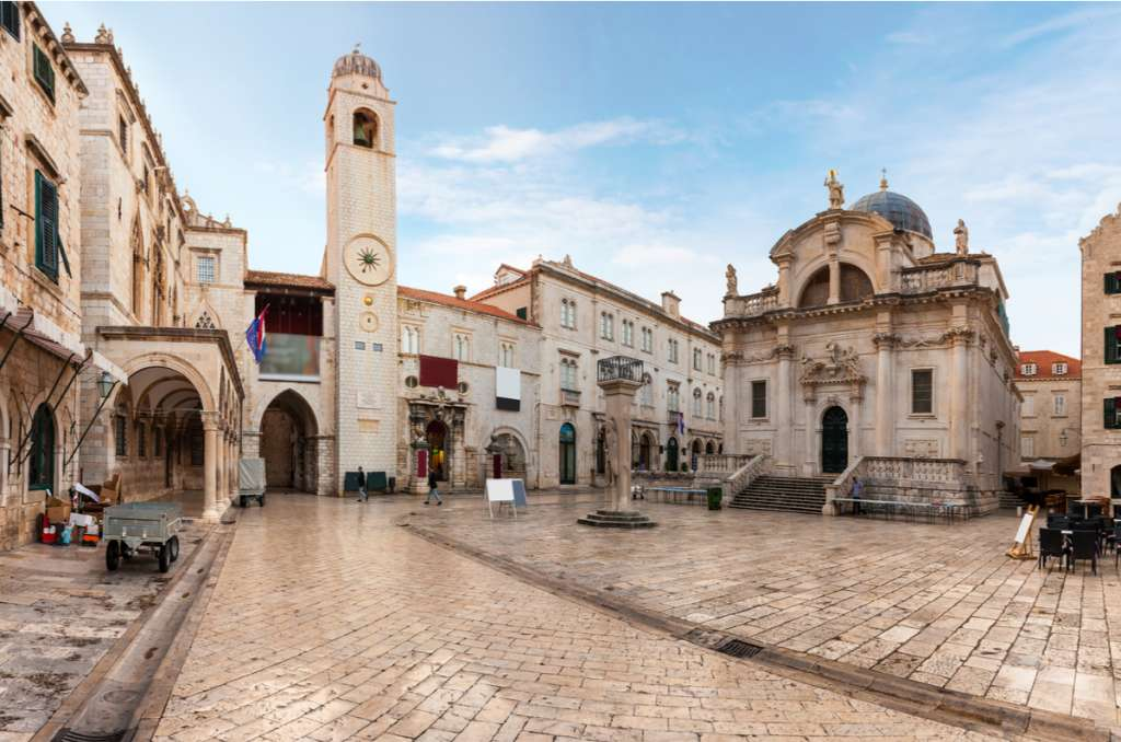 Stradun street - Dubrovnik - Croatia