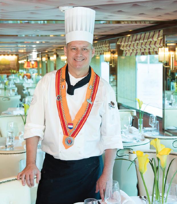 Uniworld Culinary Director - Gerard van Helvoort