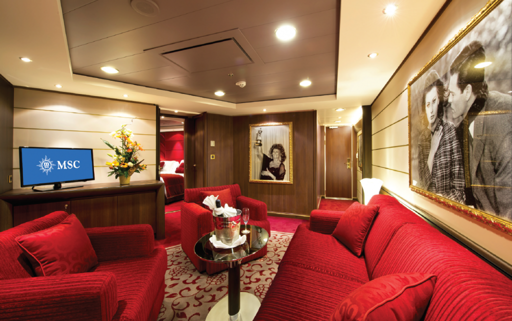 MSC Divina - Owner's suite