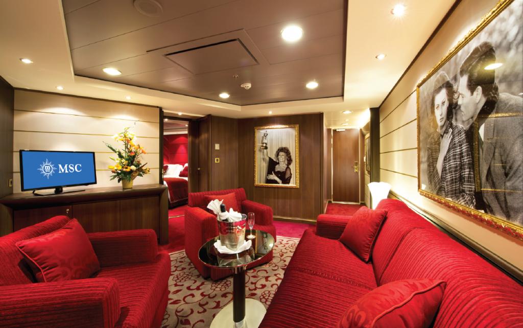 MSC Divina - Owner's suite