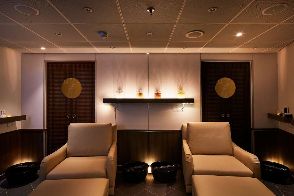 The Zagara Spa on Silversea's Silver Muse