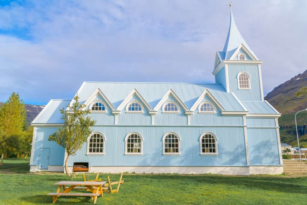 Blue Church - Seydisfjordur - Iceland