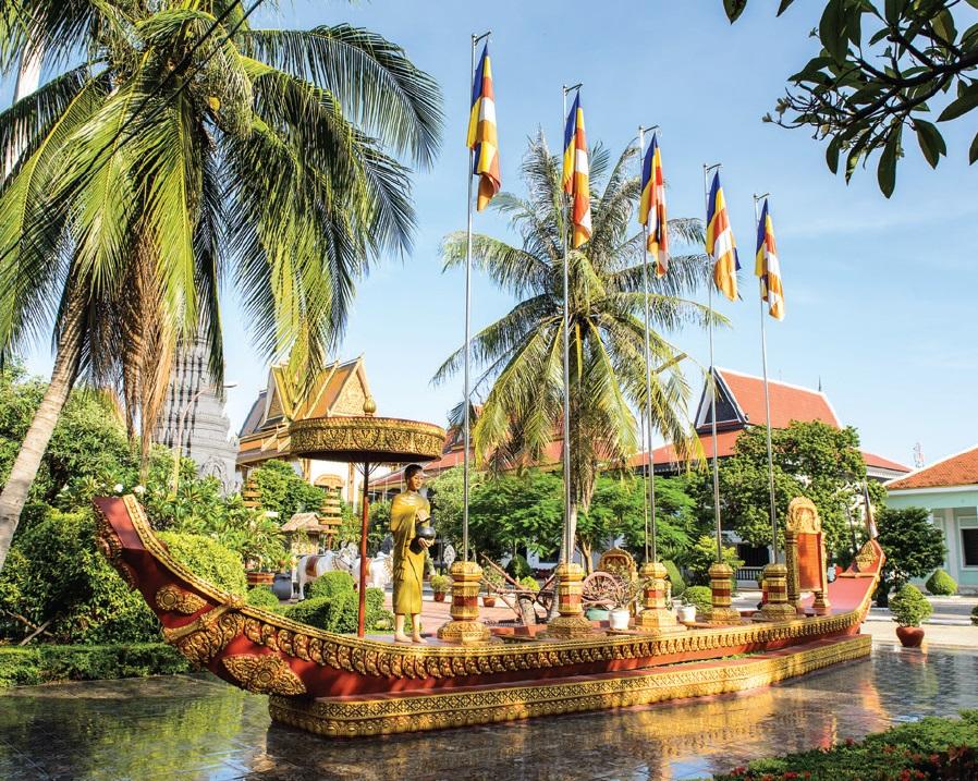 Buddhist Temple - Siem Reap - Cambodia