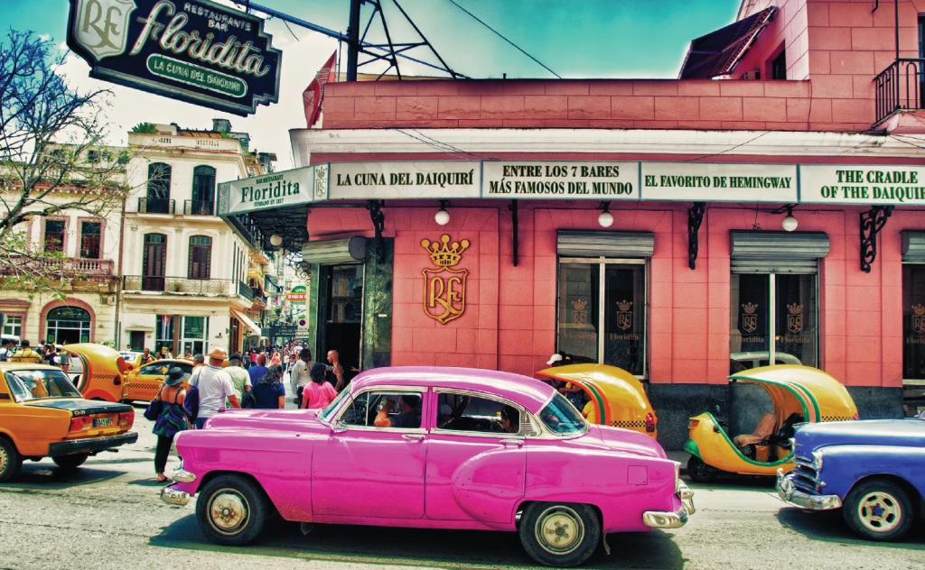 Floridita restaurant - Havana - Cuba