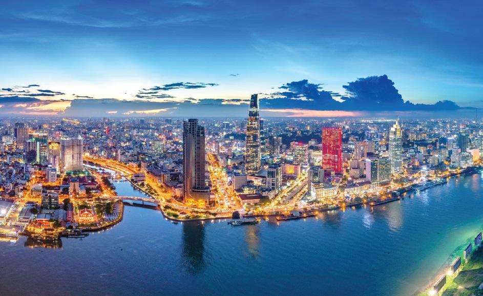 Ho Chi Minh - night - Vietnam