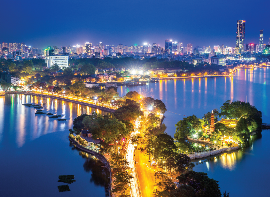 Night - Hanoi - Vietnam - Asia