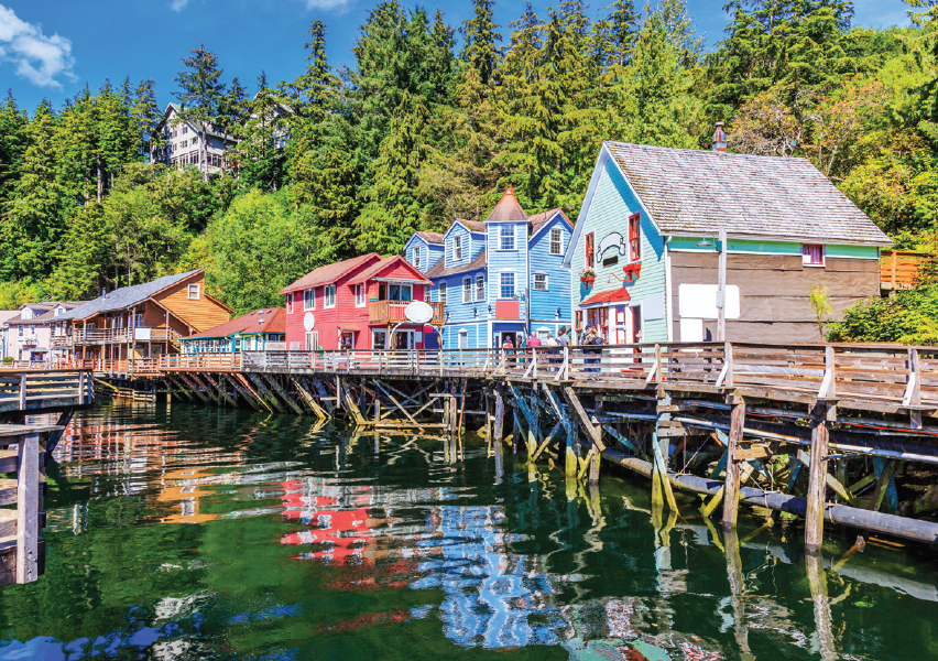 Waterfront - Ketchikan - Alaska