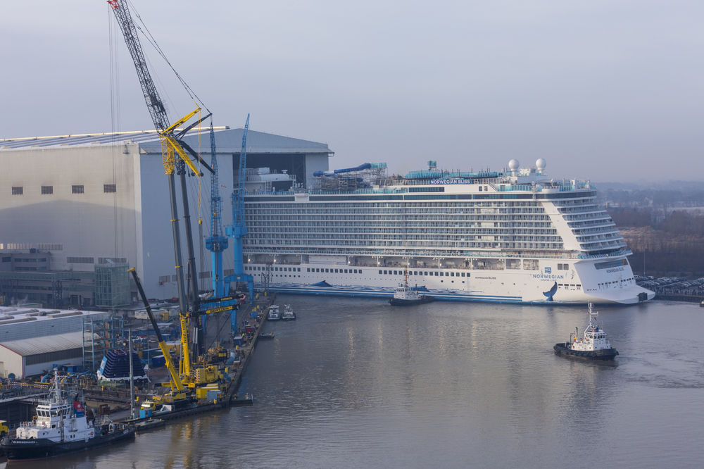 One Step Closer To Bliss Norwegian S Latest Ship Floats