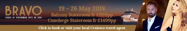 Bravo Cruise 2018