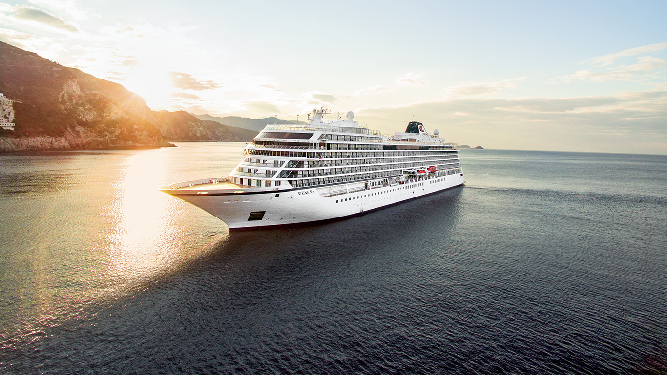 Viking to become largest small ship ocean cruise line with for Small cruise ship lines